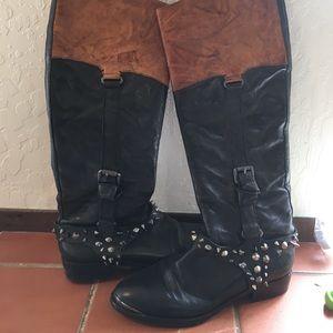 Studded Sam Edelman boots